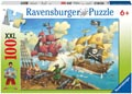 Ravensburger - Pirate Battle Puzzle 100pc