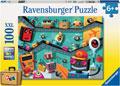 Robots Puzzle 100pc