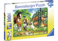 Ravensburger - Animal Get Together Puzzle 100 pieces