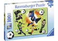 Ravensburger - Soccer Fever Puzzle 100 pieces