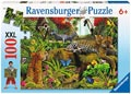 Ravensburger - Wild Jungle Puzzle 100pc