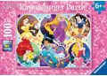 Ravensburger - Disney Princess 2 Puzzle 100pc