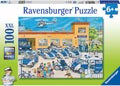 Ravensburger - Police District Puzzle 100pc