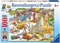 Ravensburger - Construction Site Puzzle 100pc