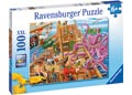 Ravensburger - Pirate Boat Adventure Puzzle 100pc
