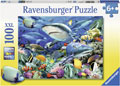 Ravensburger - Reef of the Sharks Puzzle 100 pieces