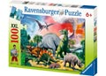 Ravensburger - Among the Dinosaurs Puzzle 100 pieces