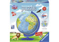 Ravensburger - Children's Globe 3D Puzzleball 180 pieces
