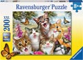 Ravensburger - Friendly Felines Puzzle 200pc