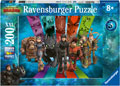 Rburg - HTTYD 3 Dragons Puzzle 200pc
