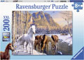 Rburg - Winter Horses Puzzle 200pc