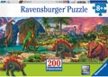 Ravensburger - Land of the Dinosaurs Puzzle 200pc