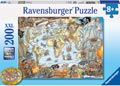 Pirate's Secret Map Puzzle 200pc