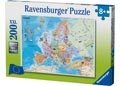 Ravensburger - European Map Puzzle 200pc