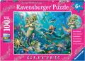 Ravensburger - Underwater Beauties GLITTER 100 pieces