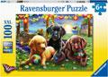 Ravensburger - Puppy Picnic 100 pieces