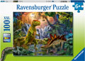 Ravensburger - Dinosaur Oasis 100 pieces