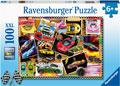 Ravensburger - Dream Cars! 100 pieces