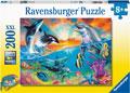 Ravensburger - Ocean Wildlife 200 pieces