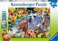 Ravensburger - Funny Farmyard Friends Puzzle 200pc