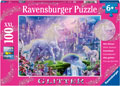 Ravensburger - Unicorn Kingdom Puzzle GLITTER 100 pieces