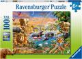 Ravensburger - Savannah Jungle Waterhole 100 pieces