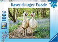 Ravensburger - Llama Love Puzzle 100pc