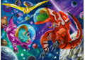 Ravensburger - Space Dinosaurs Puzzle 200pc