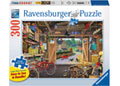 Grandpa's Garage Large Format Puzzle 300pc