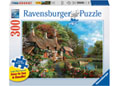 Ravensburger - Cottage on a Lake Lge Form Puz 300pc