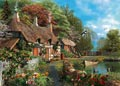 Cottage on a Lake Large Format Puzzle 300pc