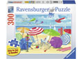 Ravensburger - At the Beach Puzzle 300 pieces Large Format