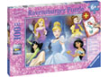Ravensburger - Disney Charming Princess Puzzle 100pc