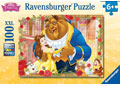 Ravensburger Disney Belle & Beast Puzzle GLITTER 100 pieces
