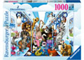 Ravensburger - Disney DreamWorks Family on Tour 1000 pieces