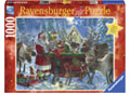 Ravensburger - Xmas Packing the Sleigh Puz 1000pc