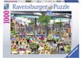 Ravensburger - Wanderlust Amsterdam Flower Market 1000pc