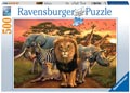African Splendour Puzzle 500pc
