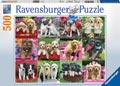 Ravensburger - Puppy Pals Puzzle 500 pieces
