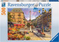 Ravensburger - A Walk Through Paris Puzzle 500 pieces