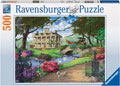 Visiting the Mansion Puzzle 500pc