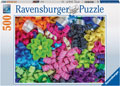 Colourful Ribbons Puzzle 500pc