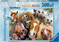 Ravensburger - Horsing Around 500pc Puzzle