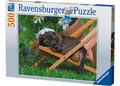 Cute Dachshund Puzzle 500pc