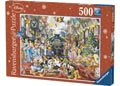 Disney Christmas Train Puzzle 500pc