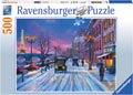 Winter In Paris Puzzle 500pc