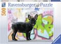 Ravensburger - French Bulldog Puzzle 500pc