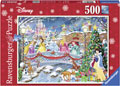 Ravensburger - Disney Princess Christmas Puzzle 500pc