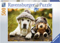 Ravensburger - Winter Labrador Puzzle 500pc