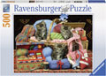 Ravensburger - Knitter's Delight Puzzle 500pc